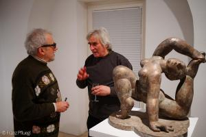 Vernissage im Dialog der Dimensionen